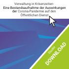 Download Studie Verwaltung in Krisenzeiten